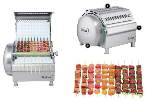 Machine à brochettes, Mobigrill, barbecue, professionnel, loire, france