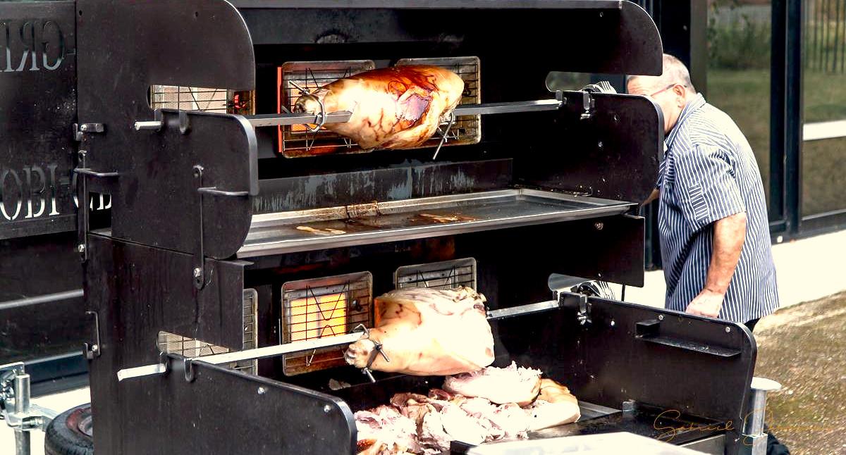 Location Tourne Broche Mechoui Barbecue Pour Vos