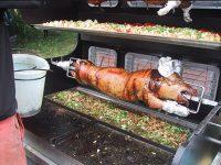 Cochon à la broche - Mobigrill