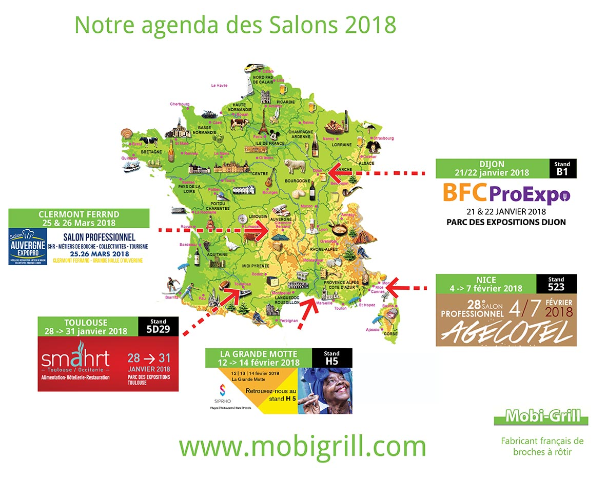 Carte salon mobigrill