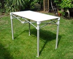 Table pliante, mobilier, mobigrill, loire, roanne, france, traiteur, restaurateur, boucher