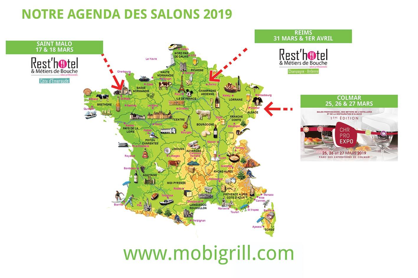 carte salons 2019 - mobigrill