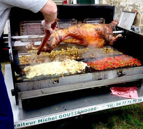 cuisson agneau tourne broche mechoui mobigrill