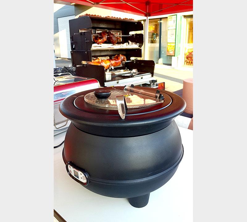 réchaud électrique, chafing dish, chauffe plat électrique, mobigrill